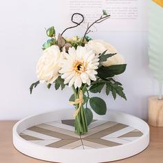 Silke blomst/Plast Brudepike Buketter/Dekorasjoner (som selges i et enkelt stykke) -