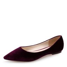 Women's Suede Flat Heel Flats