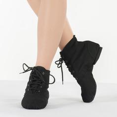 Women's Canvas Ballet Jazz Practice Dance Shoes