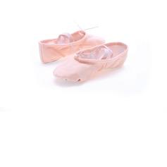 Barne Lerret Flate sko Ballett Mage Dansesko