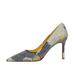 Women's Stiletto Heel Pumps With Rhinestone shoes