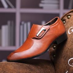 Men's Microfiber Leather Flats Men's Loafers Latin Modern Dance Shoes