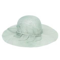 Damene ' Nydelig/Elegant/Jobb Organza med Blomst Fedora Hat