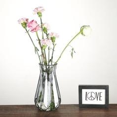 vintage stil Ensfarget glass Vase