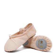 Kvinner Lerret Ballett Dansesko