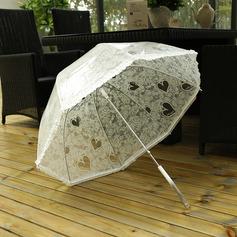 Elegant Plast Bryllup Paraplye