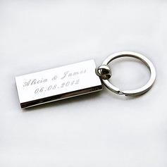 Personalized Simple Design Zinc Alloy Keychains