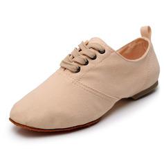 Women's Cloth Flats Ballroom Dance Shoes
