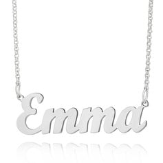 [Free Shipping]Custom Silver Letter Name Necklace - Birthday Gifts (288217711)