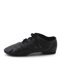 Women's Leatherette Flats Jazz Dance Shoes