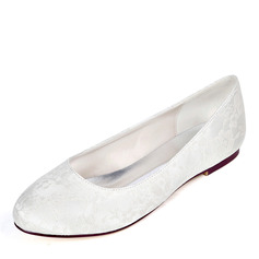 Kvinner Blonder Flat Hæl Flate sko