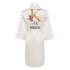 Personlig Polyester Brud Brudepike Mamma Blomsterjente Junior brudepike Skriv Ut Kapper (248258453)