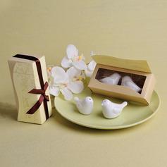 Bird Design Ceramic Salt & Pepper Shakers