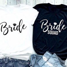 Brudepike Gaver - Sexy Bomull T skjorte (256205562)