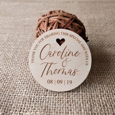"Personalized ""Thank You"" Wooden Tags"