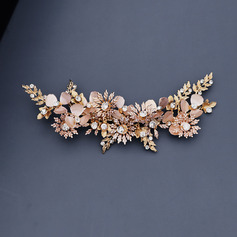 Ladies Beautiful Rhinestone/Alloy Hairpins With Rhinestone (Sold in single piece) (042238337)