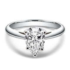 Ladies' Classic 925 silver and chain Moissanite Initial Rings/Promise Rings/Engagement Rings Rings (011253896)
