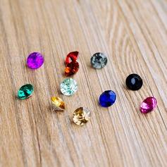 Fargerike Akryl Diamant Stykker