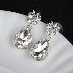 Unique Alloy/Rhinestones With Rhinestone Ladies' Earrings