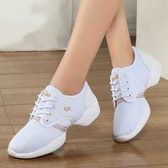 Women's Fabric Sneakers Modern Jazz Sneakers Dance Shoes