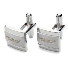 Groomsmen Gaver - Personlig Klassisk Stil Zinc Aluminiums mansjettknapper