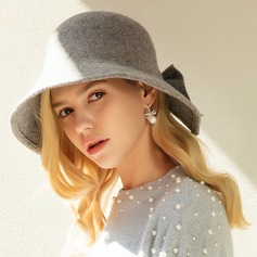 Ladies' Beautiful/Elegant/Simple Wool Floppy Hat