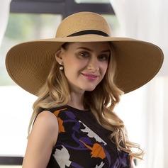 Ladies' Classic Raffia Straw Straw Hat