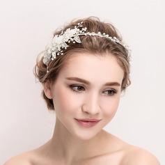 Damer Vakkert Crystal/Legering/Imitert Perle/Silke blomst Tiaraer (042114394)