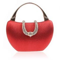Elegant Sparkling Glitter Clutches/Top Handle Bags