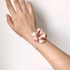 Blomstringen Hånd Bundet Silke blomst Håndledd Corsage -