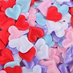 Hjerteformede Satin/Svamp Confetti