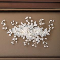 Damer Elegant Legering/Imitert Perle/Voile Kammer og Barrettes med Venetianske Perle (Selges i ett stykke) (042236881)