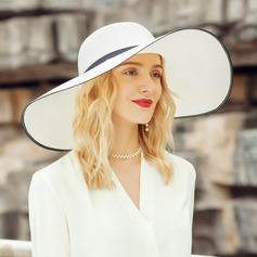 Damene ' Klassisk stil/Enkel Polyester/Satin Diskett Hatt