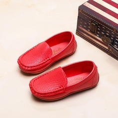 Girl's Closed Toe Loafers & Slip-Ons Leatherette Flat Heel Flats