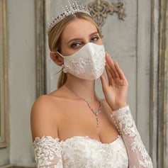 Non-Medical Satin Reusable Face Masks With Adjustable Loop (301252445)