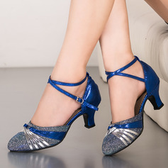 Women's Sparkling Glitter Ballroom Dance Shoes