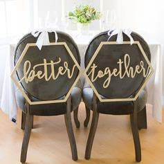 Klassisk stil/Vakkert Elegant Tre Wedding Sign