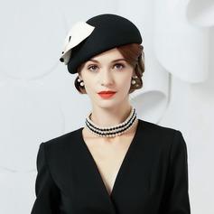 Ladies' Eye-catching Wool Bowler/Cloche Hats