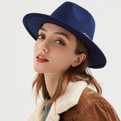 Unisexmodell Mote Felt Fedora Hat