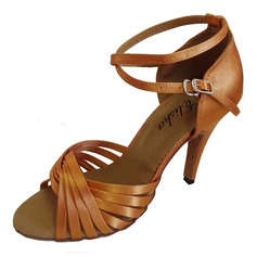 Women's Leatherette Heels Ballroom Dance Shoes