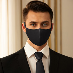 Men's Non-Medical Satin Reusable Face Masks With Adjustable Loop (301252484)