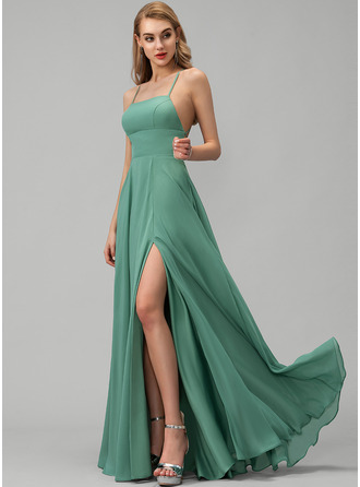 Square Neck Sleeveless Maxi Dresses