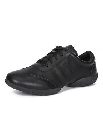 Women's Leatherette Sneakers Modern Jazz Sneakers Dance Shoes