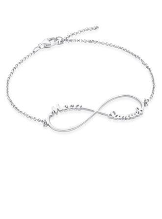 personlig Kobling og kjede Navn armbånd - Valentines Gaver Til Henne