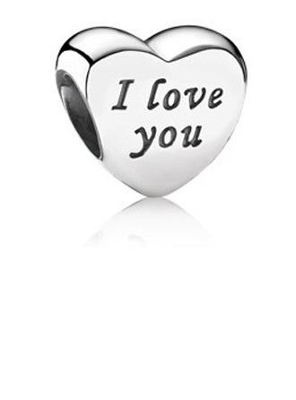 Hjerte Perler med Jeg Elsker Deg - Valentines Gaver