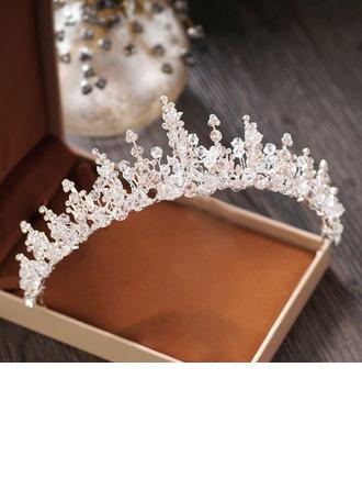 Ladies Beautiful Crystal/Rhinestone/Alloy Tiaras With Crystal