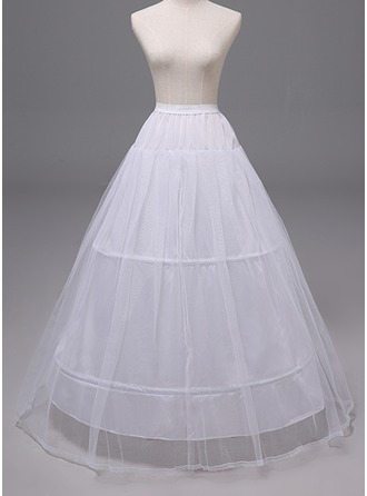 Women Polyester 2 Tiers Petticoats