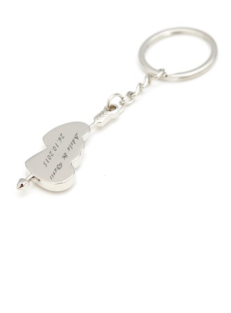 Bridesmaid Gifts - Personalized Alloy Keychain