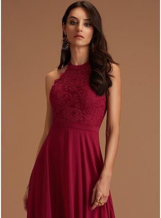 Round Neck Sleeveless Maxi Dresses