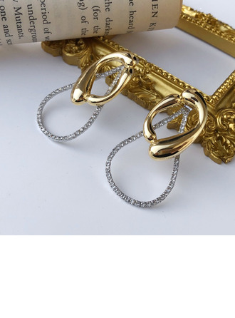 Damene ' Vakkert kobber/925 sølv og Kjetting øredobber